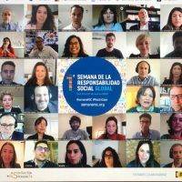 humanos en la oficina congresos online