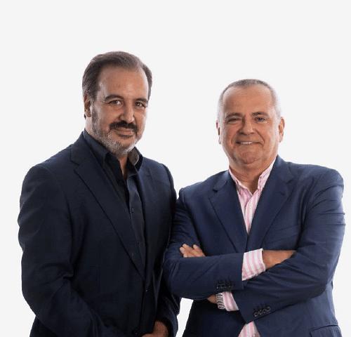 Miguel Angel Pérez Laguna y Juanma Romero , los comunicadores de mayor audiencia en el mundo de la empresa y el emprendimiento